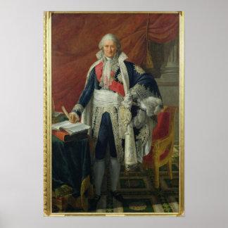 Compte Jean-Etienne-Marie Portalis 1806 Affiche