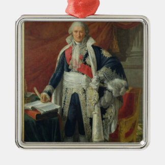 Compte Jean-Etienne-Marie Portalis 1806 Ornement Carré Argenté