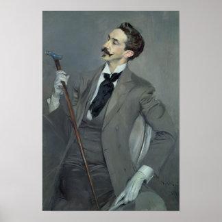 Compte Robert de Montesquiou 1897 Poster