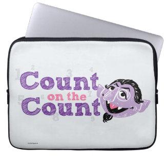 Compte von Count Image Housse Pour Ordinateur Portable