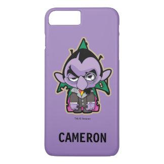 Compte von Count Zombie | votre nom Coque iPhone 8 Plus/7 Plus