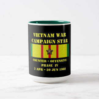 Compteur - campagne offensive de la phase IV Mug Bicolore