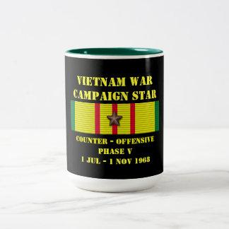 Compteur - campagne offensive de la phase V Mug Bicolore
