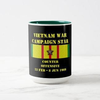 Compteur - campagne offensive de Tet 1969 Mug Bicolore