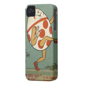 Comptine vintage d'oie de mère, Humpty Dumpty Coque iPhone 4