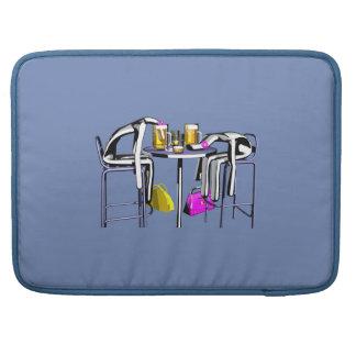Computer cover Coups de bar 4 girl Housse Pour Macbook