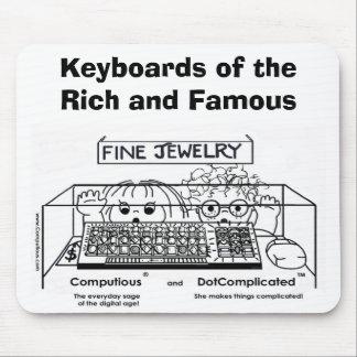 Computious et DotComplicated (TM) Bling-Bling Tapis De Souris