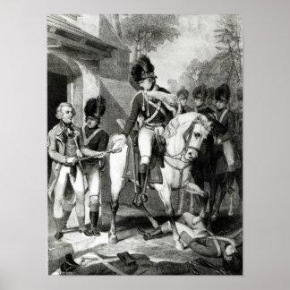 Comte Harcourt de Marshall de champ Poster