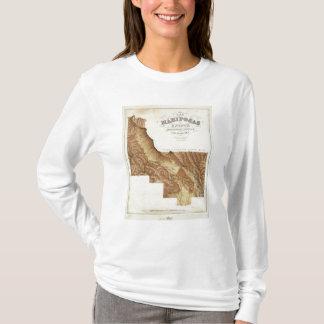 Comté la Californie de Mariposas de domaine de Las T-shirt