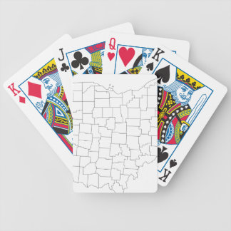 Comtés de l'Ohio Jeux De Cartes