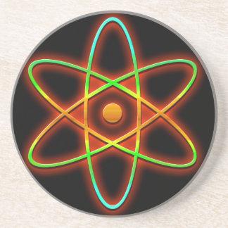 Concept atomique dessous de verre