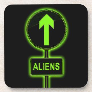 Concept d'aliens sous-bocks