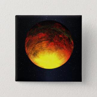 Concept d'artiste de Kepler-10b Badge