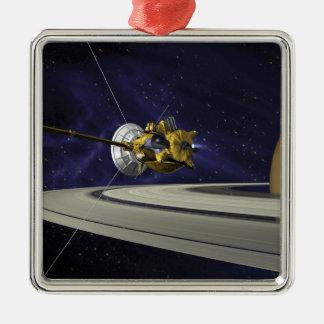 Concept d'artistes de Cassini Ornement Carré Argenté