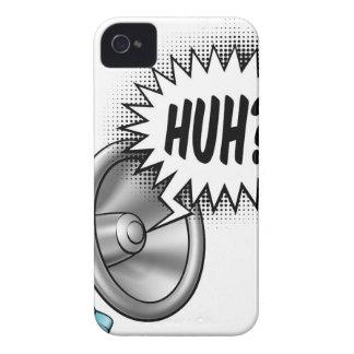 Concept de bulle de la parole de mégaphone coque iPhone 4