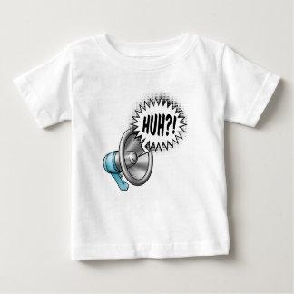 Concept de bulle de la parole de mégaphone t-shirt pour bébé
