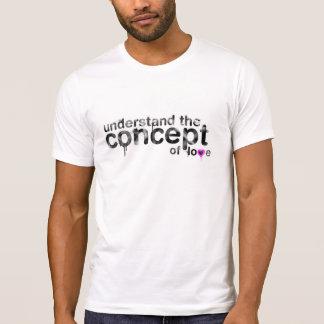 Concept de l'amour t-shirt