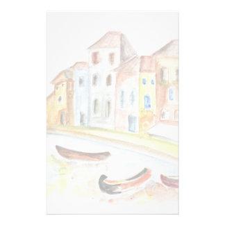 Concept de Venise Papier À Lettre Customisé