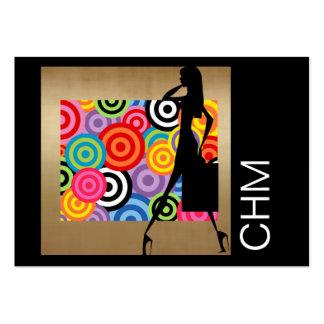 Concepteur d'ouvrière couturière de mode cartes de visite professionnelles