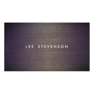 Concepteur en bois simple de professionnel de carte de visite standard
