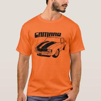 Conception 1969 de voiture de muscle de Camaro T-shirt