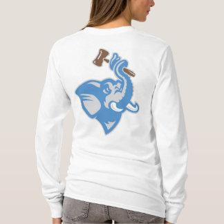 Conception 2 de T-shirt de Longsleeve des femmes
