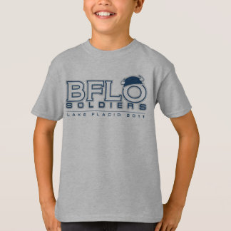 Conception 2 du T-shirt de l'enfant de lacrosse de