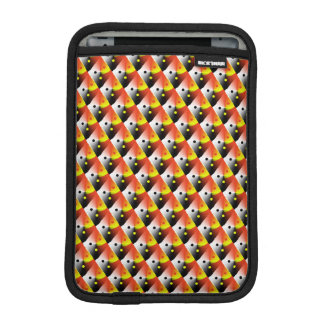Conception 3D jaune et rouge contemporaine Housse Pour iPad Mini