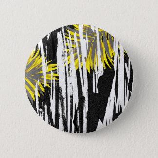 Conception abstraite de feuille de palmier badges