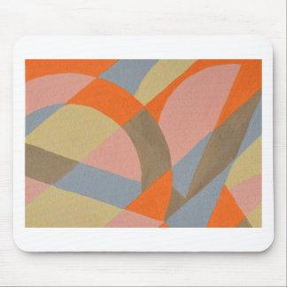 Conception abstraite de la peinture originale tapis de souris