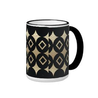 Conception africaine abstraite de contemporain mug