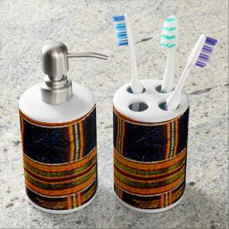 Conception africaine abstraite distributeur de savon