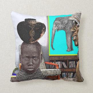 Conception africaine urbaine coussin