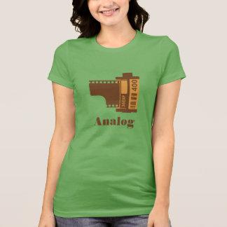 conception analogue de film de 35mm personnalisée t-shirt