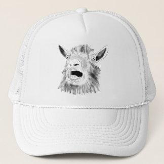Conception animale d'art de dessin criard drôle de casquette