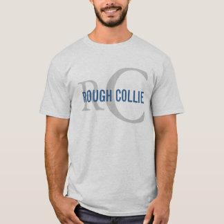 Conception approximative de monogramme de race de t-shirt