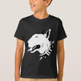 Conception artistique de race de chien de t-shirt