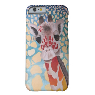 Conception audacieuse et originale de girafe coque barely there iPhone 6