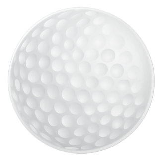 Conception blanche de boule de golf