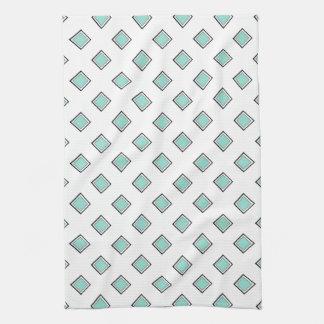 Conception bleue de couleur de diamant d'oeufs serviettes éponge
