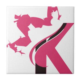 Conception BMI de logo de la couronne K Petit Carreau Carré