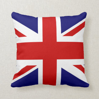 Conception britannique du carreau | Union Jack de Coussin Décoratif