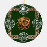 Conception celtique de cheval ornements de noël