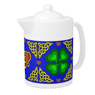 Conception celtique de Scotalnd/shamrock vert,