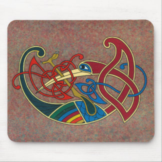 Conception celtique Mousepad d'art Tapis De Souris