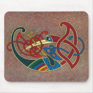 Conception celtique Mousepad d'art Tapis De Souris