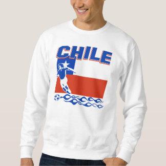 Conception chilienne du football sweatshirt