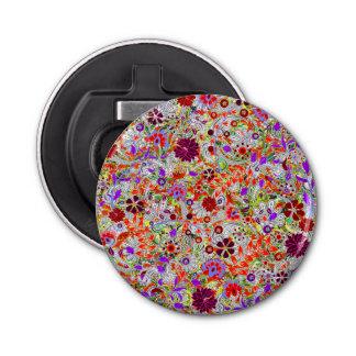 Conception colorée mignonne de collage de fleurs