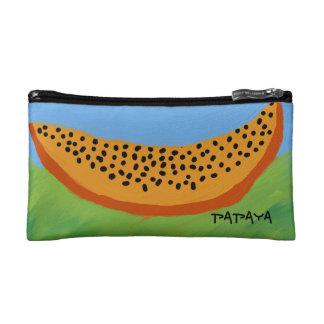 conception cosmétique de papaye de sac