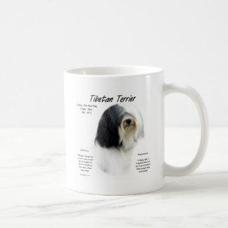 Conception d histoire de Terrier tibétain Tasse À Café